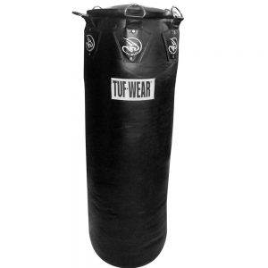 Tuf-Wear Gigantor 4.5ft Hide Leather Punch Bag – Black