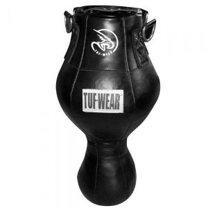 Tuf-Wear Leather Uppercut Spring Bag – Black