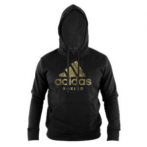 Adidas Boxing Hoody Shadow Logo – Black