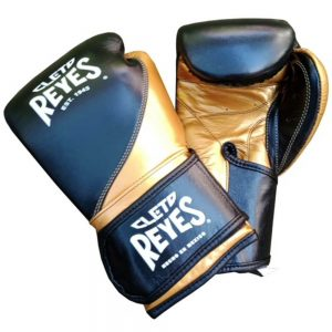 Cleto Reyes High Precision Training Gloves – Black/Gold