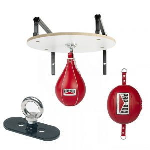 Pro-Box PU Floor To Ceiling & Speedball Set – Red