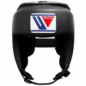 Winning FG-2300 Open Face Headguard – Black
