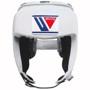 Winning FG-2300 Open Face Headguard – White