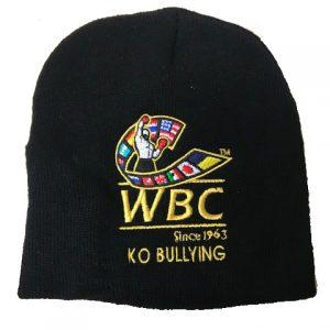 WBC Black World Boxing Council Beanie