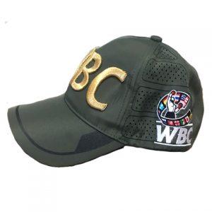 WBC Khaki Green World Boxing Council Cap