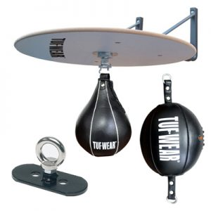 Tuf-Wear Floor To Ceiling & Speedball Set – Black