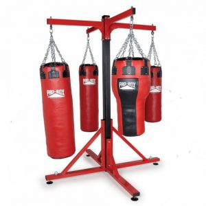 Pro-Box Colossus Four Station Punch Bag Frame