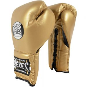 Cleto Reyes Lace Up Sparring Gloves – Gold