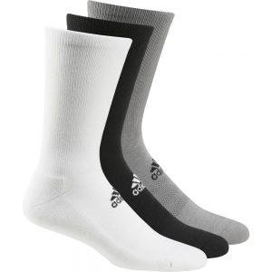 Adidas 3-Pack Sport Crew Socks – Multi [UK6-14]