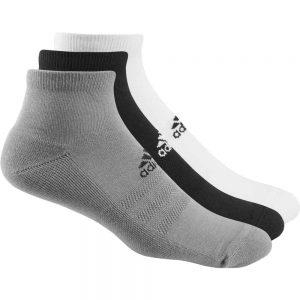 Adidas 3-Pack Sport Ankle Socks – Multi [UK6-14]