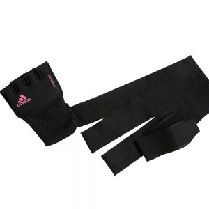 adidas Boxing Quick Wrap/Punch – Black/Pink