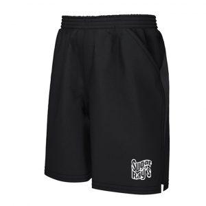 Sugar Ray's Cool Tech Training Shorts – Black/White