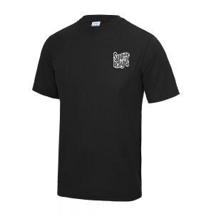 Sugar Ray's Cool Tech Training T-Shirt – Black/White