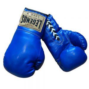 Legends London Autograph Gloves – Blue