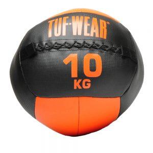 Tuf-Wear 10KG Wall Ball – Black/Orange