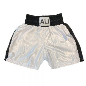 "Legends ""ALI"" Style Shorts – White/Black"