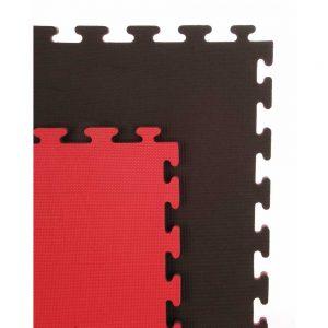 Cannons UK Reversible 20mm Premium 1m x 1m Mat – Red/Black