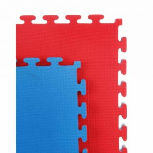 Cannons UK Reversible 20mm Premium 1m x 1m Mat – Red and Blue