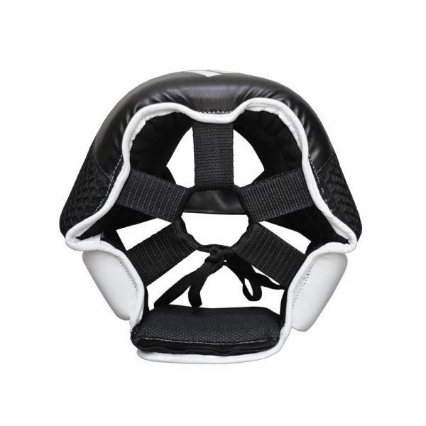 Adidas Hybrid 150 Cheek Head Guard – Black/White