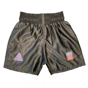 "Legends Tyson Style ""Go America"" Shorts – Black"