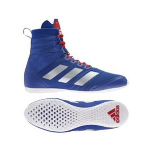 Adidas Speedex 18 Boxing Boot – Blue/Silver/Red