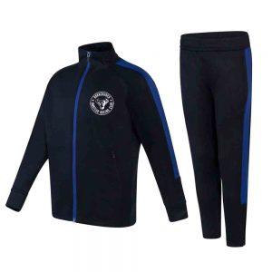 Hornchurch & Elm Park Junior Slim Fit Tracksuit – Navy/Blue