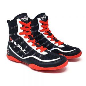 Rival RSX-Future Junior Boxing Boots – Black/White/Red