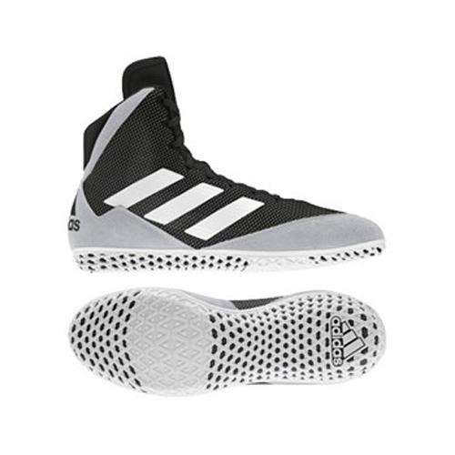 Adidas Mat Wizard 5 Wrestling / Boxing Boot – Black/White