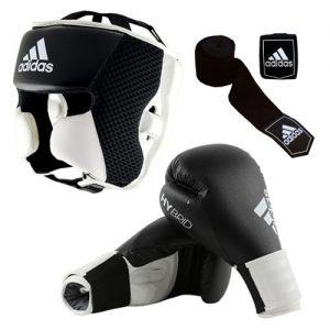 Adidas Hybrid Boxing Set – Black/White