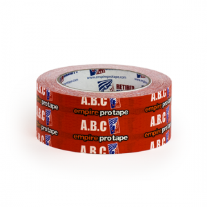 Empire Pro 2″ wide x 36 yds A.B.C Glove Tape – Red