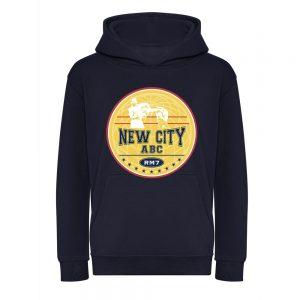 New City ABC Junior Boxing Hoodie – Navy