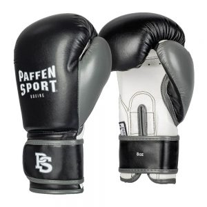 Paffen Sport Kids Boxing Gloves – Black/White