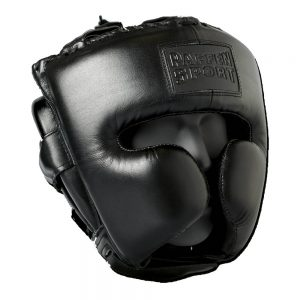 Paffen Sport Black Logo Cheek Protector Headguard