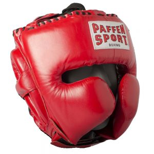 Paffen Sport Pro Mexican Cheek Protector Headguard – Red