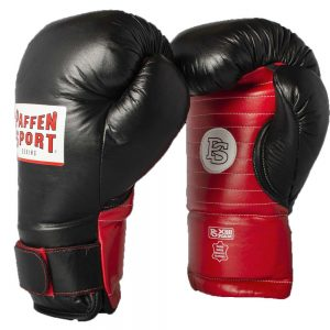 Paffen Sport Coach Spar Combination Mitts – Red/Black