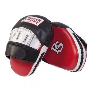 Paffen Sport Pro Professional Punch Mitts – Black/Red