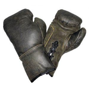 Legends London Leather Autograph Gloves – Old School Authentic
