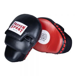 Paffen Sport XTRA Padded Coach Mitts – Black/Red