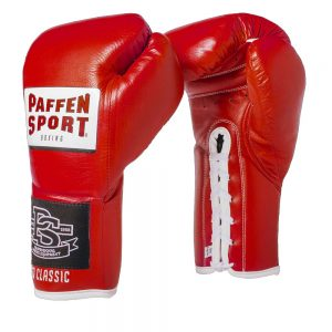 Paffen Sport Pro Classic Contest Boxing Glove – Red 10oz