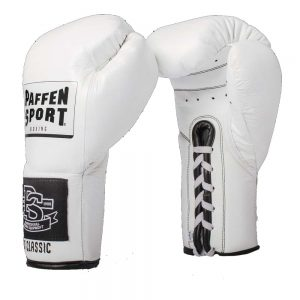 Paffen Sport Pro Classic Contest Boxing Glove – White 10oz