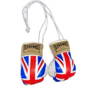 Legends London Authentic Leather Mini Hanging Gloves – Union Jack