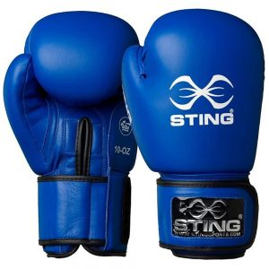 Sting AIBA Competition Boxing Gloves – Blue