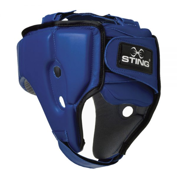 Sting AIBA Competition Boxing Head Guard – Blue