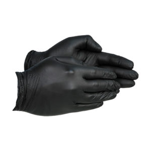 Empire Pro Nitrile Gloves – Black [Pack of 100]