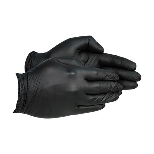 Empire Pro Nitrile Gloves – Black [Pack of 100]