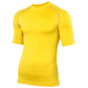Rhino Performance Baselayer Shortsleeve – Yellow