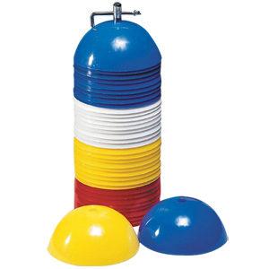 BXR Marker Cones Set of 40 – Aluminum Stand