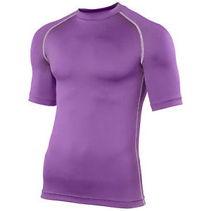 Rhino Performance Baselayer Shortsleeve – Purple