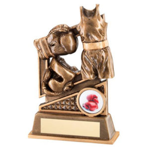 JR Bronze/Gold Boxing Diamond Series Trophy