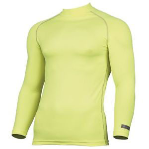 Rhino Performance Baselayer Longsleeve – Fluorescent Yellow